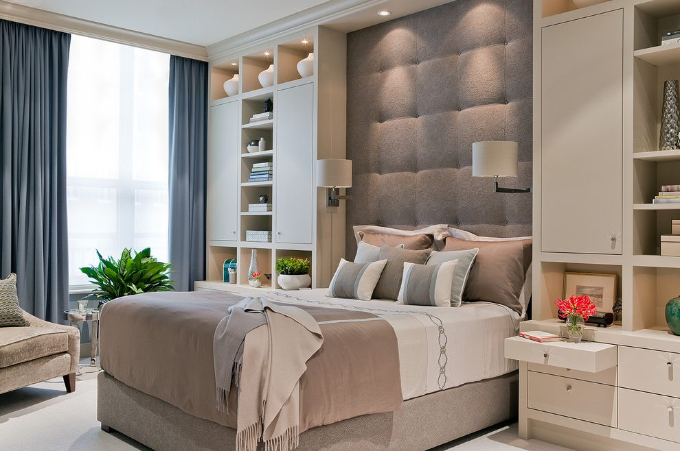Headboard-built-in-bedroom-contemporary-with-tufted-cushioned-headboard-bedside-table
